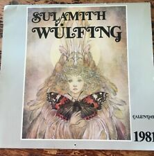 Salamith Wulfing 1981 Calendar - Good Condition- Ships Free