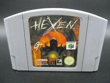 Hexen Nintendo 64 N64 Modul / Cartridge PAL EUR Multilingual