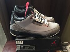 Nike Air Jordan Retro 3 Sz 15 Preowned 14 Promo Pe Stealth