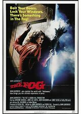 The Fog - Jamie Lee Curtis - John Carpenter - A4 Laminated Mini Movie Poster