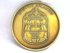 SPACE SHUTTLE MEDAL-STS 117 ATLANTIS /ATLANTIS 104................#7.7/339