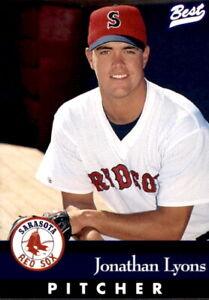 1997 Sarasota Red Sox Best #13 Jonathan Lyons Memphis Tennessee TN Baseball Card