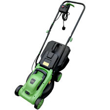 More details for charles bentley 1200w 30l electric wheeled rotary lawnmower 3 grass cut settings