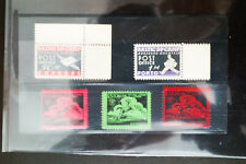 Baltic States 5 Value Propaganda Stamps From The D Camps