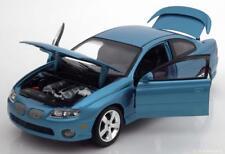 PONTIAC GTO 2004 BLUE METAL CAR AND DRIVER ERTL autoworld AMM1025 1/18 1/18 BLAU