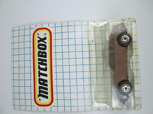 Matchbox Toyota Supra Vintage Bulgarian diecast 1:60 N60 #1