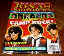 JONAS BROTHERS BLAST Magazine Collector Edition #08 2008 Nick Joe Kevin Demi