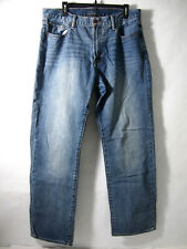 Lucky Brand Mens Jeans 36X34 181 Relaxed Straight Medium Wash Blue 100% Cotton