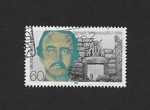 FRD (FR.Germany) 1480 (complete issue) FDC 1990 h. Schliemann Used (D3)