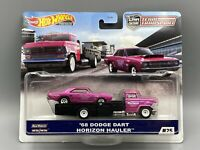 Hot Wheels 2020 Car Culture Team Transport 68 Dodge Dart Horizon Hauler Truck