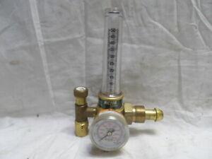 "Victor Argon Gas Welding Flowmeter Model 1425-580 ""Nice Condition"""