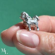 Sterling Silver Bichon Dog Jewellery Charm