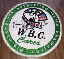 Evander Holyfield Signed WBC Patch