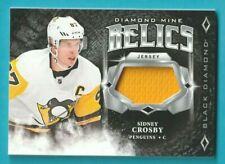 2018-19 Black Diamond SIDNEY CROSBY DIAMOND MINE RELICS JERSEY #DM-SC PENGUINS