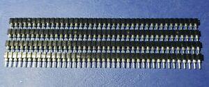 Turned  pin SIL socket strip 40 Way .....Lot of 4 .....