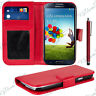 Housse Etui Coque Portefeuille Cuir Samsung Galaxy S4 i9505/ Value Edition I9515