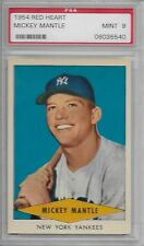 1954 Red Heart Mickey Mantle PSA 9 Beautiful ('Dom T.')