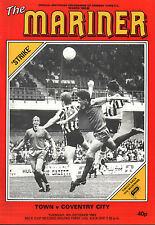 1983/84 Grimsby Town v Cardiff City, League Cup, PERFECT CONDITION