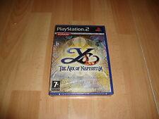 YS ARK OF NAPISHTIM RPG DE FALCOM - KONAMI PARA LA SONY PS2 NUEVO PRECINTADO