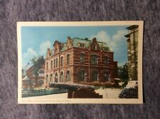 POSTCARD POST OFFICE CHARIOTTETOWN PRINCE EDWARD ISLAND CANADA1900s #L631