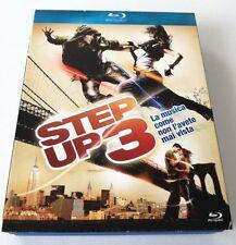 STEP UP 3 FILM BLU-RAY BD COFANETTO ITALIANO OTTIMO SPED GRATIS SU + ACQUISTI