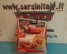 Saetta McQueen + Mini Saetta McQ. Micro Drifters- Cars Disney P. Mattel sc.1-55