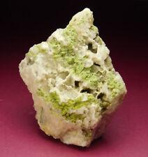 RARE Pyromorphite Crystals On Quartz Matrix Loudville Lead Mines Massachusetts