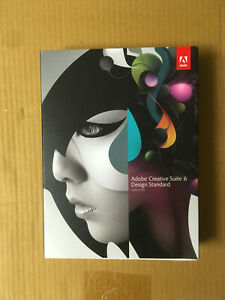 ADOBE Creative Suite CS6 Design Standard Windows deutsch MWST Voll BOX