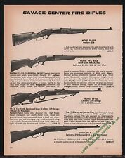 1980 SAVAGE Model 99, 99-358, 99-C, 99-CD, 99-A Center Fire Rifle AD