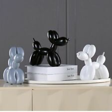 Resin Balloon Dog Crafts Sculpture Creative Gifts Modern Simple Home Decorations