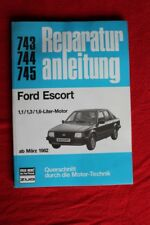 Youngtimer-Reparaturanleitung Ford Escort ab März 1982, Band 743, 744, 745