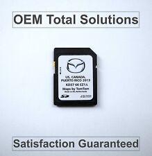 Rare Genuine 2013 - 2015 Mazda / TomTom Navigation OEM SD Card Map KD37 66 EZ1A