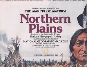 national geographic map-DEC 1986-NORTHERN PLAINS.