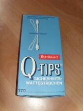 Qtips Cotton Swabs Wattestäbschen Antik Sammler Deko Requisite