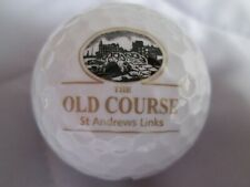 The Old Course - St Andrews, Scotland - Logo Golf Ball - Mint Condition