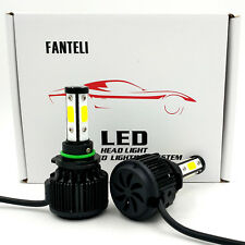 9006 HB4 6000K White 1300W 195000LM 4-Sided CREE LED Headlight Conversion Kit