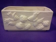 """Butterfly Sill Planter 7"""" x 3"""" x 3"""" Ceramic Bisque, Ready To Paint"""
