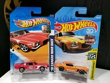 2012 & 2020 HOT WHEELS RLC FACTORY SEALED SET '70 CAMARO ROAD RACE SPEED - A27