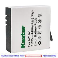 Kastar Replace Battery for Xiaomi YI AZ16-1 AZ16-2 & Xiaomi Yi 4K Action Camera