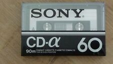 Cassette Tape Factory Sealed SONY CD-a 60 90m compact cassette