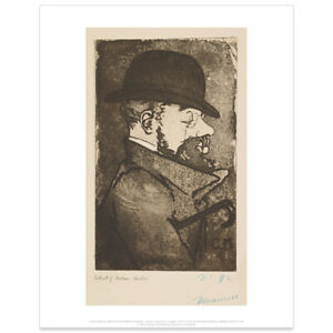 Henri de Toulouse-Lautrec by Charles Maurin art print - SALE £2