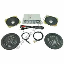 Mosfet Stereo Sound Amplifier Kit With Plastic Speaker Covers