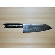 """New Shun Kaji 7,5"""" HG Sumo Santoku Knife KDM0034 KDM 0034 Japan SG2 Chef Wide"""