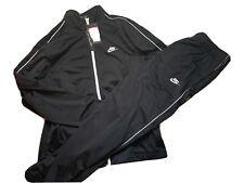 Mens Black Nike Tracksuit Size L