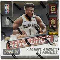 2020-21 PANINI REVOLUTION BASKETBALL HOBBY BOX FACTORY SEALED NEW FREE SHIPPING