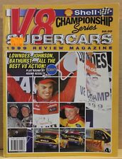 V8 Supercars Shell Championship Series Review 1999 Rare Very Good Condition