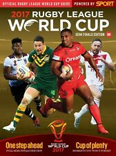 RUGBY LEAGUE WORLD CUP 2017 COMPLETE SET OF PROGRAMMES