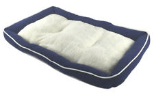 Pet Bed Cushion Mat Pad Dog Cat Kennel Crate Cozy Soft Sheep Fur 48 x 30 x 3""
