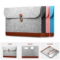 "Wool Felt Laptop Sleeve Case Notebook Bag For MacBook Air Pro Retina 11"" 13"" 15"""