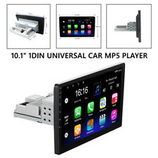 """New listing Android 9.1 Single 1Din 10.1"""" Car Stereo Radio In-Dash Universal Car Multimedia"""